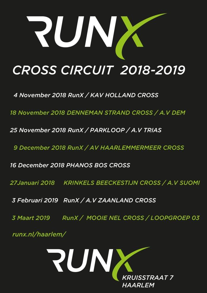 Activiteit: RunX cross circuit