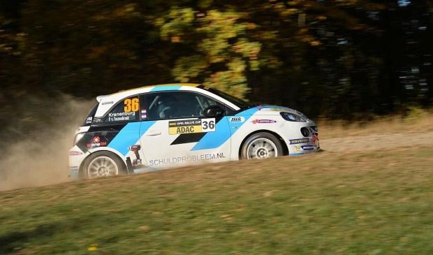 Ernst Kranenburg in de Rallye Erzgebirge 2018