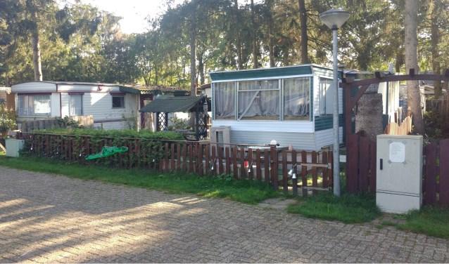 De stacaravans op Camping De Bokkesprong zullen de komende maanden verdwijnen.