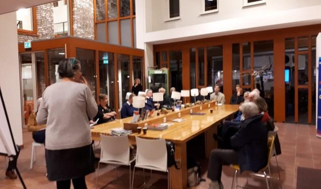 Mariet Wolterbeek was verrast over de verschillende uitkomsten aan haar dialoogtafel.