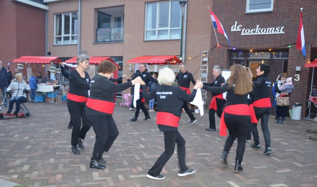 De Griekse dansgroep Evros