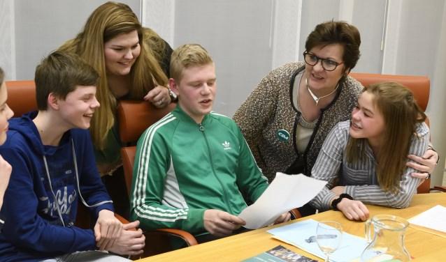 Het winnende plan van de jeugdgemeenteraad wordt in 2019 uitgevoerd.