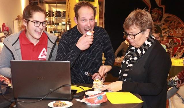 De vakjury: Dieke Goodijk, Vincent Zandbergen en Clara Klok.