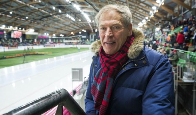 Ard Schenk tijdens het WK allround