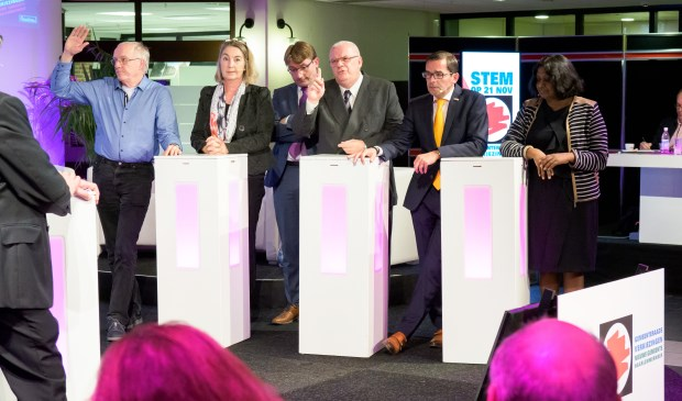 Lijsttrekkersdebat, gemeenteverkiezingen, gemeente Haarlemmermeer.