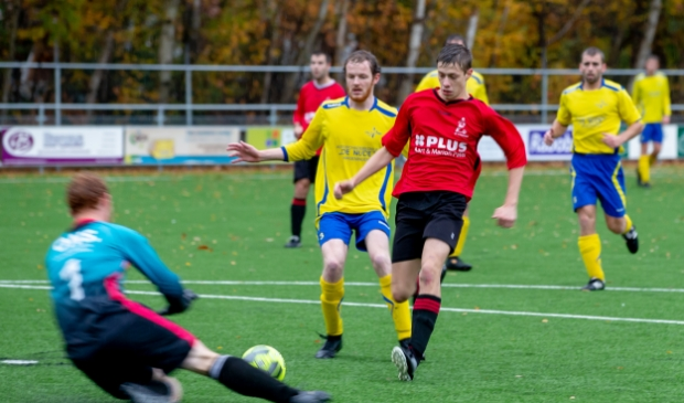 <p>Jo&euml;ll Hendriks in zijn eerder SV Harskamp periode.</p>