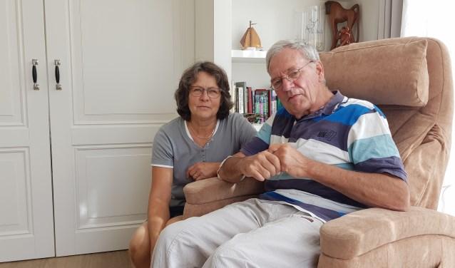 """Inge Meijer met haar man. """"Ik voelde me heel welkom bij Mantelzorg & Meer."""""""