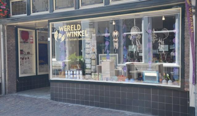 De Wereldwinkel is nu nog te vinden aan de Peperstraat