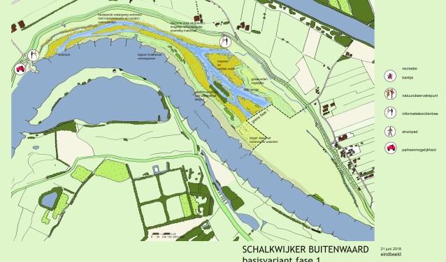 Natuurontwikkeling en verruiming van de rivier