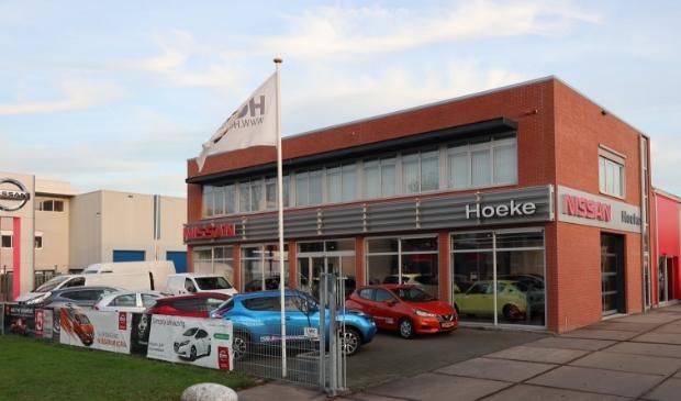 <p>Het pand van Hoeke aan de Robijnlaan in Hoofddorp.</p>