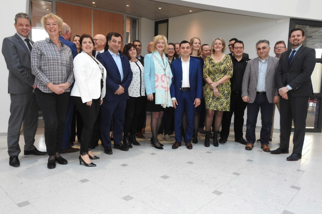 De nieuwe gemeenteraad werd in april geinstalleerd.  foto: GP-foto © BDU Media