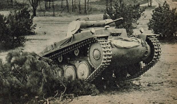 Deze tank was al in gebruik voordat de Koude oorlog uitbrak.