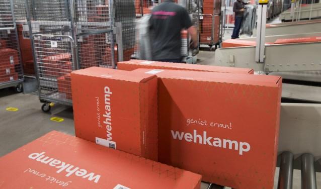 Het distributiecentrum van Wehkamp.