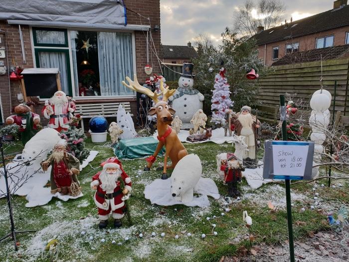 Kerst tuin Driebergen