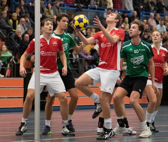 Dennis van Eijl in actie.