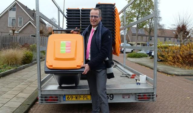 Wethouder Harke Dijksterhuis is tevreden met de wijzigingen in het afvalstoffenbeleid.