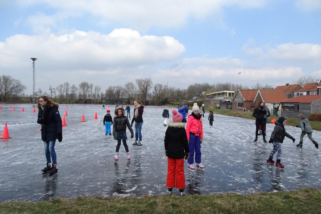 Met die warme zomer zouden we het bijna vergeten maar er was ook schaatspret in 2108                           Aart Vermeij © BDU media
