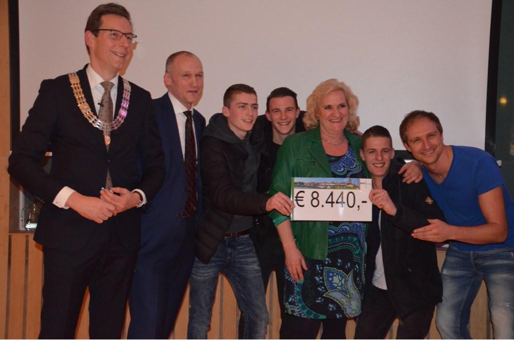 Negen organisaties mochten 8.440 euro verdelen Ali van Vemde © BDU media