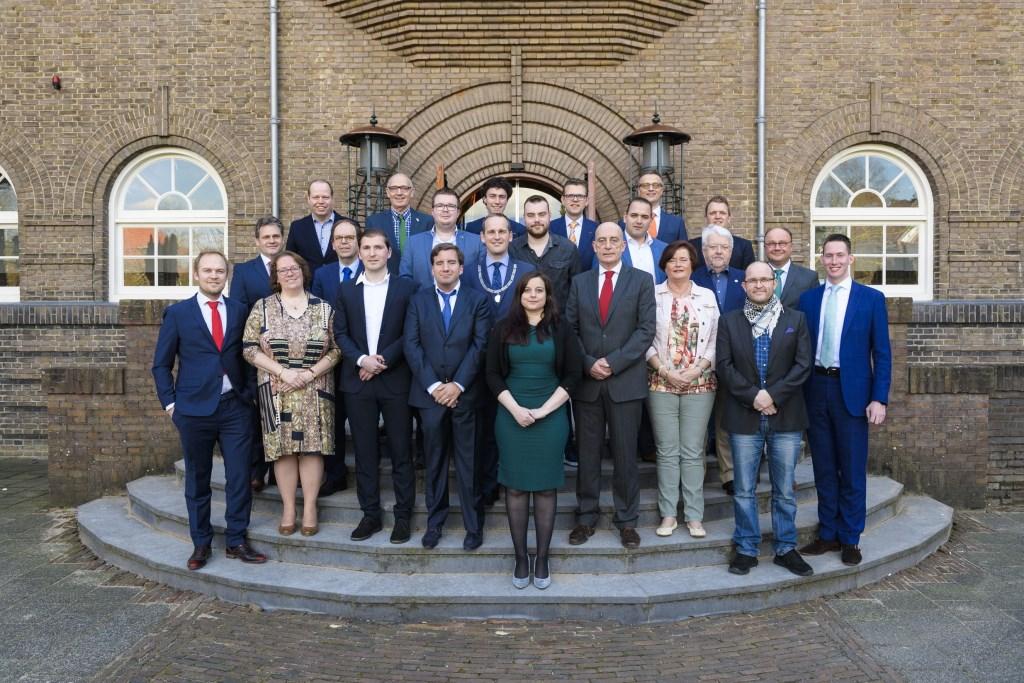 Op 29 maart werd de nieuwe gemeenteraad geïnstalleerd. Richard van Hoek © BDU media