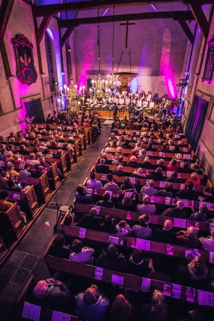Volle kerkgebouw Arjen Hoftijzer © BDU media