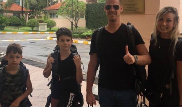 Roberto en zijn gezin