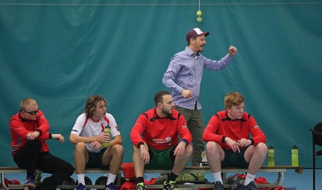 Trainer-coach Guus Boerhorst heeft echt 'De Blinkert-DNA'.