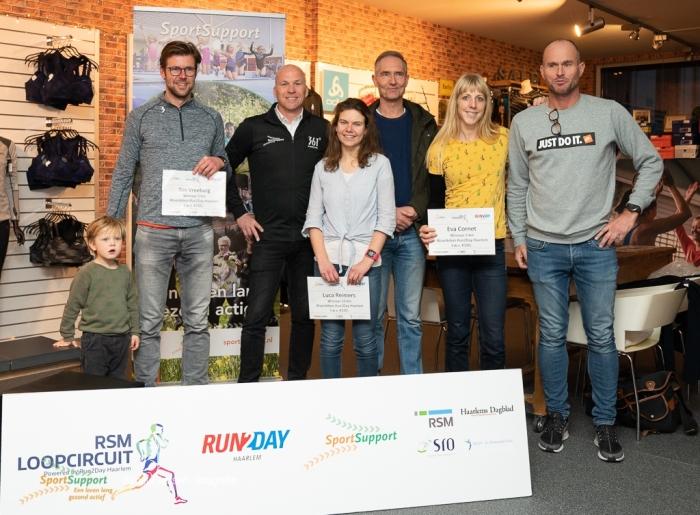 winnaars RSM Loopcircuit powered by Run2Day Haarlem