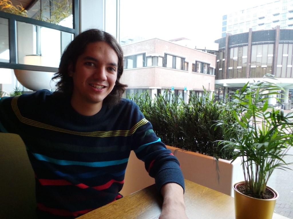 Ramon de la Combé is medeorganisator van Gluren bij de Buren. Jet Kuiper © BDU media
