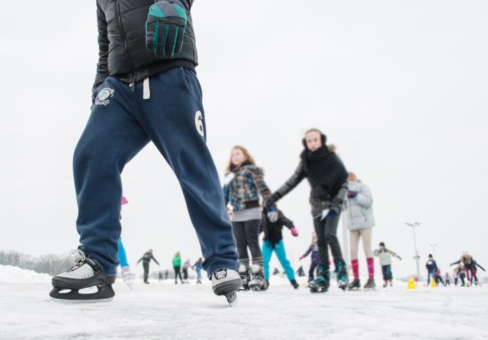 Leer schaatsen met de JeugdSportPas