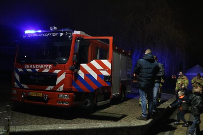 Brandweer Ede Stadspoort kwam ook een bakje snert eten Lydian Bijl © BDU Media