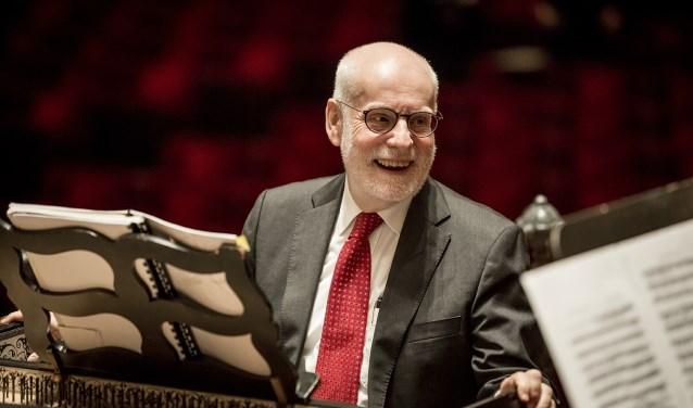 Ton Koopman brengt op vrijdag 15 februari muziek van Bach en Telemann in de Edesche Concertzaal.