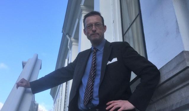 Floris de Gelder, directeur van Paleis Soestdijk.