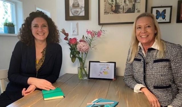 Marina Steinmann en Inge Boot gunnen vrouwen de rust van een financiële huishouding die op orde is door een kakeibo.