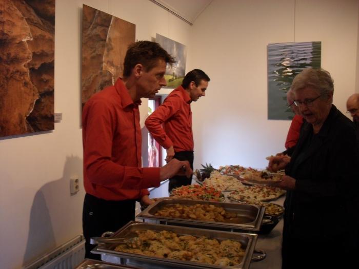 het feestelijke buffet