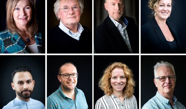 Sandra Schuin, Harm Heinen, Anne Breemer, Jannelies van Berkel, Ali Albostan, Antonio van den Hengel, Janet Schutte, René van Hal.