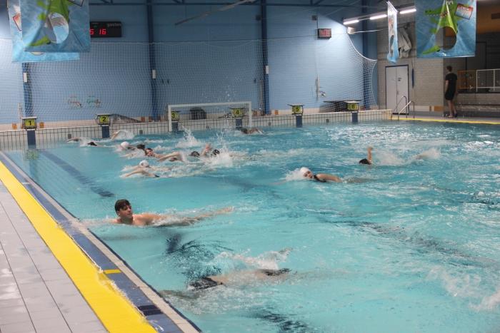 zwemtraining Richard van der Veen © BDU Media