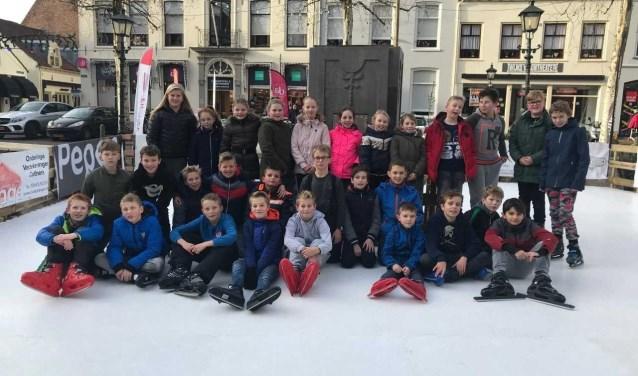 Met de klas naar de schaatsbaan