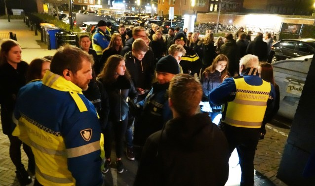 Politie en boa's hielden vorig weekend preventieve blaastesten onder jonge horecabezoekers in Barneveld.