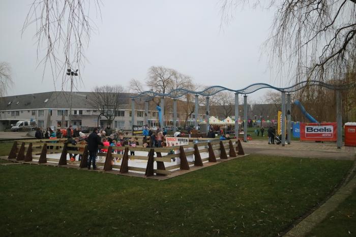 Winterfeest op grasveld 'De Rietsigaar'