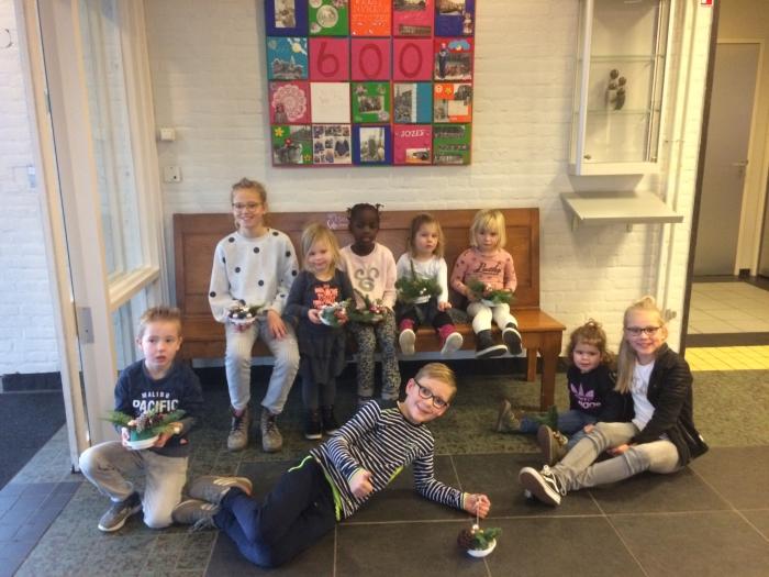 Kinderen van Kindcentrum het Baken