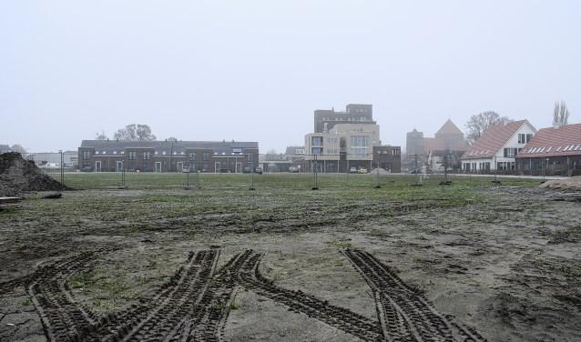 Een archieffoto van de wijk Groot Agteveld in Achterveld, twee jaar geleden nog volop in ontwikkeling.