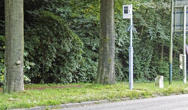 <p>Deze flitspaal staat niet in Amersfoort en is ter illustratie&nbsp;</p>