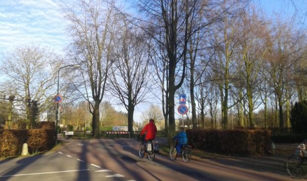 De Tolhuislaan is een voorbeeld van een hoogwaardige fietsverbinding