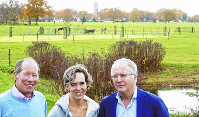 Het bestuur van Vrij Polderland gaat voor de Eempolder liggen: geen bebouwing. Foto: Martin Huizenga
