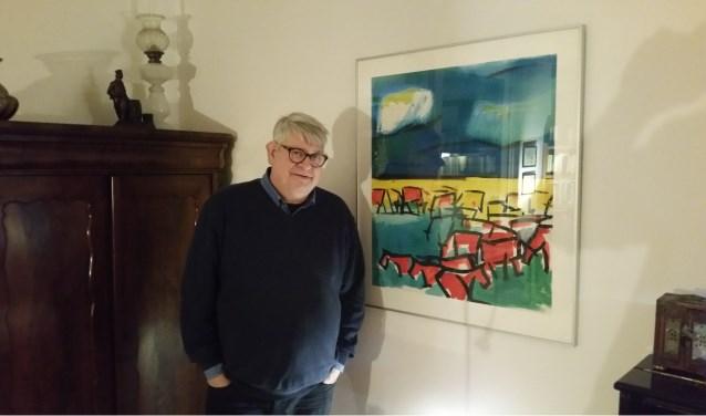 Voorzitter Dick de Jong van Stichting Dorpsbehoud Hardinxveld-Giessendam