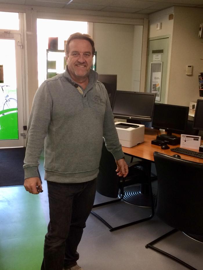 Rene Esselink, eigenaar van Relies Computers