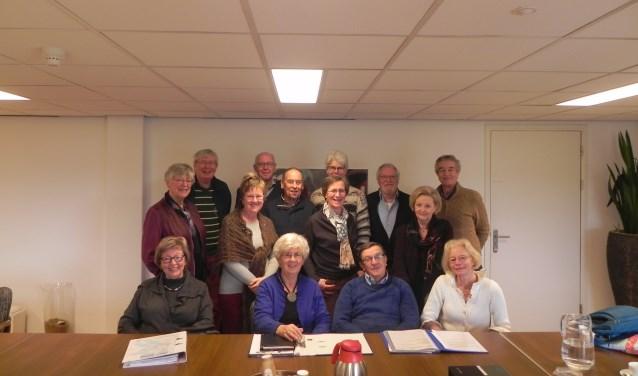 De organisatie van de Senioren Zomerschool Houten (Koos en Ingrid ontbreken)