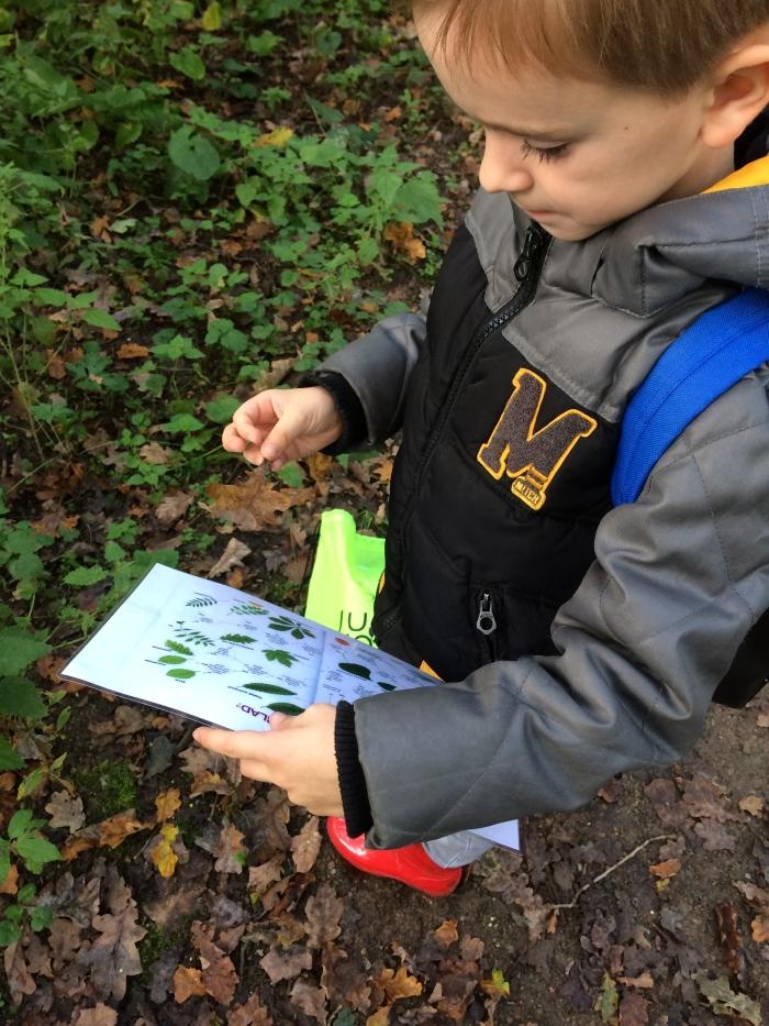 Leren is regelmatig op pad in de natuur