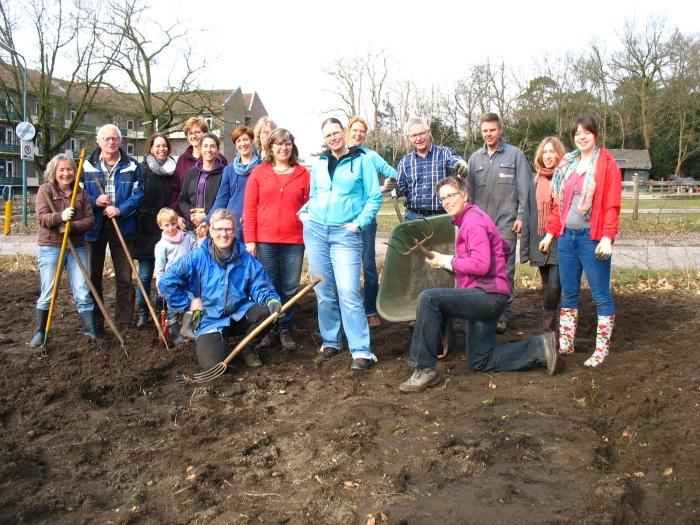 de groep vrijwilligers