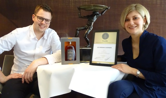 Liz Barents en Jelle Horst hebben een veelbelovende toekomst in de gastronomie.